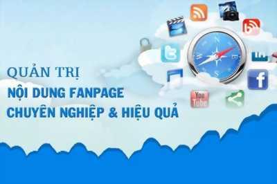 Quản trị Fanpage chuyên nghiệp tại Tân Bình