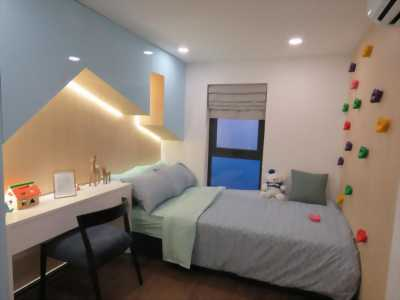 Bán căn hộ La Cosmo tại Quận Tân Bình, thiết kế căn hộ có lửng và hồ bơi trên không