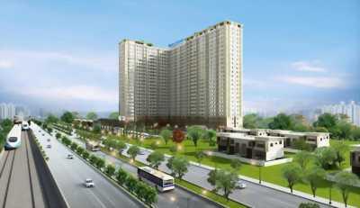 Căn hộ sắp được công bố tại mặt tiền Xa lộ Hà Nội.