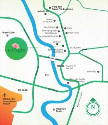 Căn hộ 2 Pn 74m2 Eco Xuân vị trí đắc địa, Cửa ngõ phía bắc