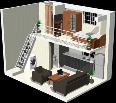 Cho thuê hai căn nhà ở xã hội Định Hòa giá rẻ