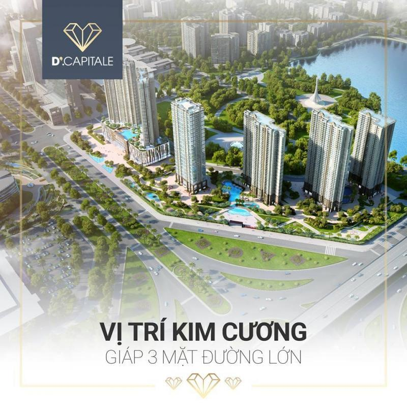 Vinhome D'Capital- Nơi đầu tư tuyệt vời an cư lý tưởng