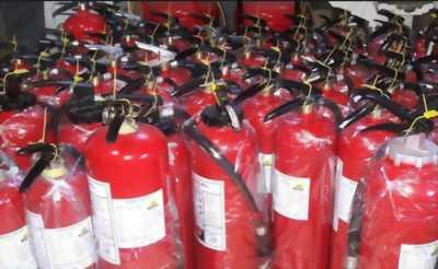 Nạp bình chữa cháy bột, co2, giá rẻ