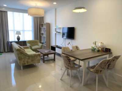 Bán căn hộ Icon 56, quận 4, DT 72,4m2, 2PN/2WC, nhà mới thiết kế đẹp