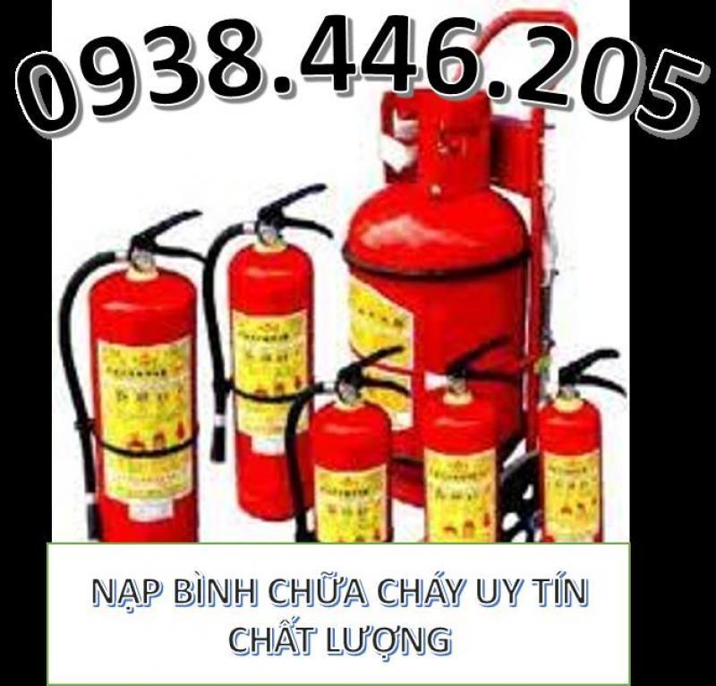 Nạp bình chữa cháy tại khu công nghiệp tp hcm giá cạnh tranh nhất, gọi ngay 0938.446.205