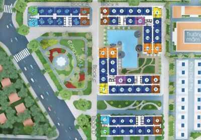 Căn hộ Diamond ( City Gates 2 ) giá 1 tỷ 9  ( 73m2)
