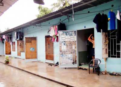 Cần tiền bán gấp dãy phòng trọ 14 phòng và 450m2 đất thổ cư KCN Tam Phước.