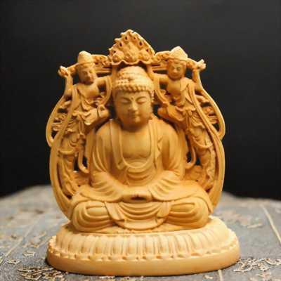 Tượng gỗ Hoàng Dương Tam Phật