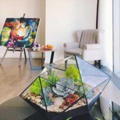 Trao Gửi Thiên Nhiên Đong Đày Cảm Xúc Terrarium AquaGarden.