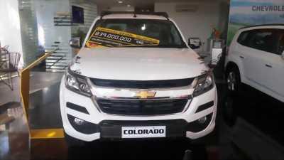Bán xe Chevrolet Colorado, hỗ trợ vay 80% giá trị xe.