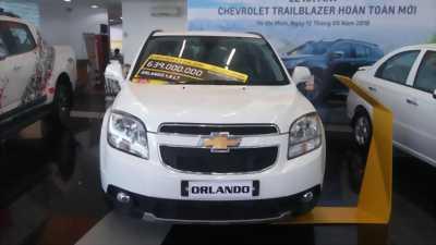 Bán xe Chevrolet Orlando, hỗ trợ vay 80%