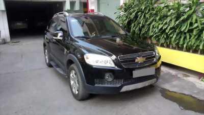 Gia đình cần bán xe Chevrolet Captiva đời 2008 số tự động màu đen