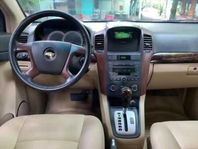 Cần bán xe Captiva LTZ 2009, số tự động, màu bạc, gia đình sử dụng