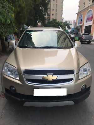 Cần tiền bán gấp xe Captiva LTZ 2009, tố tự động, màu vàng cát