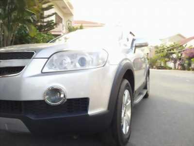 Lên đời bán xe Captiva LT 2007, số tự động, màu bạc