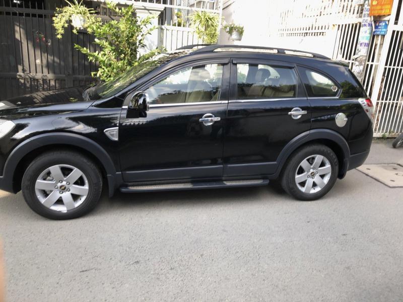 Bán xe captiva 2008 số sàn, màu đen gia đình sử dụng
