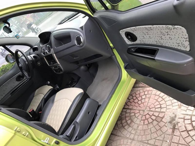 Cần bán Chevrolet Spark Van 2017 số Sàn,màu xanh lá.Xe