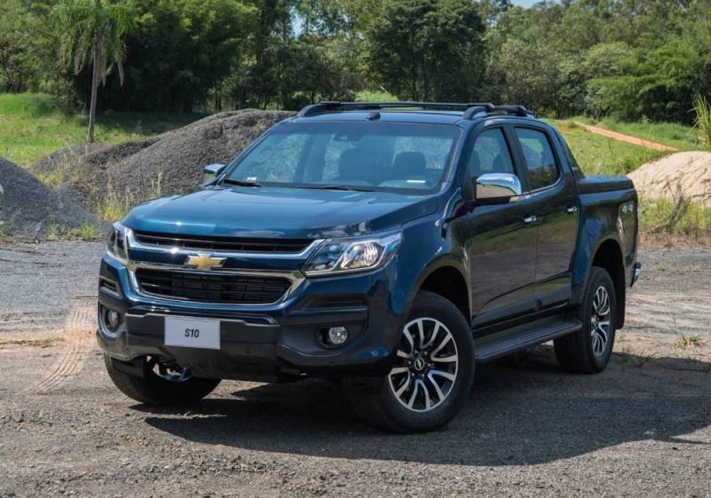 Chevrolet Colorado 2017 mới.