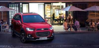 Chevrolet Captiva, hỗ trợ vay 100%, giảm ngay 60tr