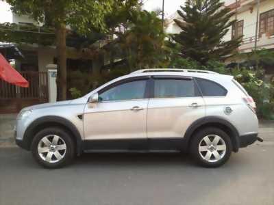 Cần bán xe choverlet Captiva 2008, số sàn, màu bạc.