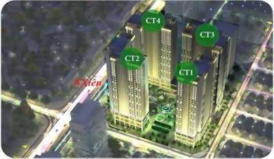 Chính chủ bán căn 08 Chung Cư Eco Green City, DT: 67,02m2 giá rẻ 25tr/m2 Tòa CT4