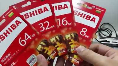 thẻ nhớ 64gb hiệu Toshiba