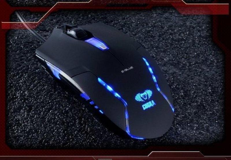 Chuột Eblue Cobra EMS151 Led Xanh Game Net Chính Hãng