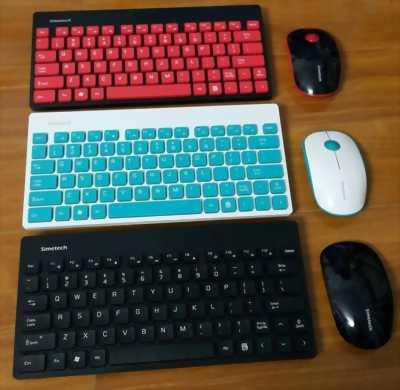 Combo phím chuột không dây Simetech SM8900