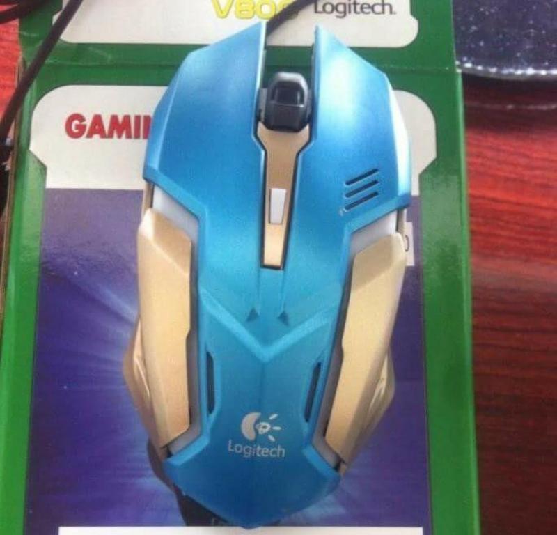 Chuột Dây Logitech Game V800 – Mẫu led – Chính hãng