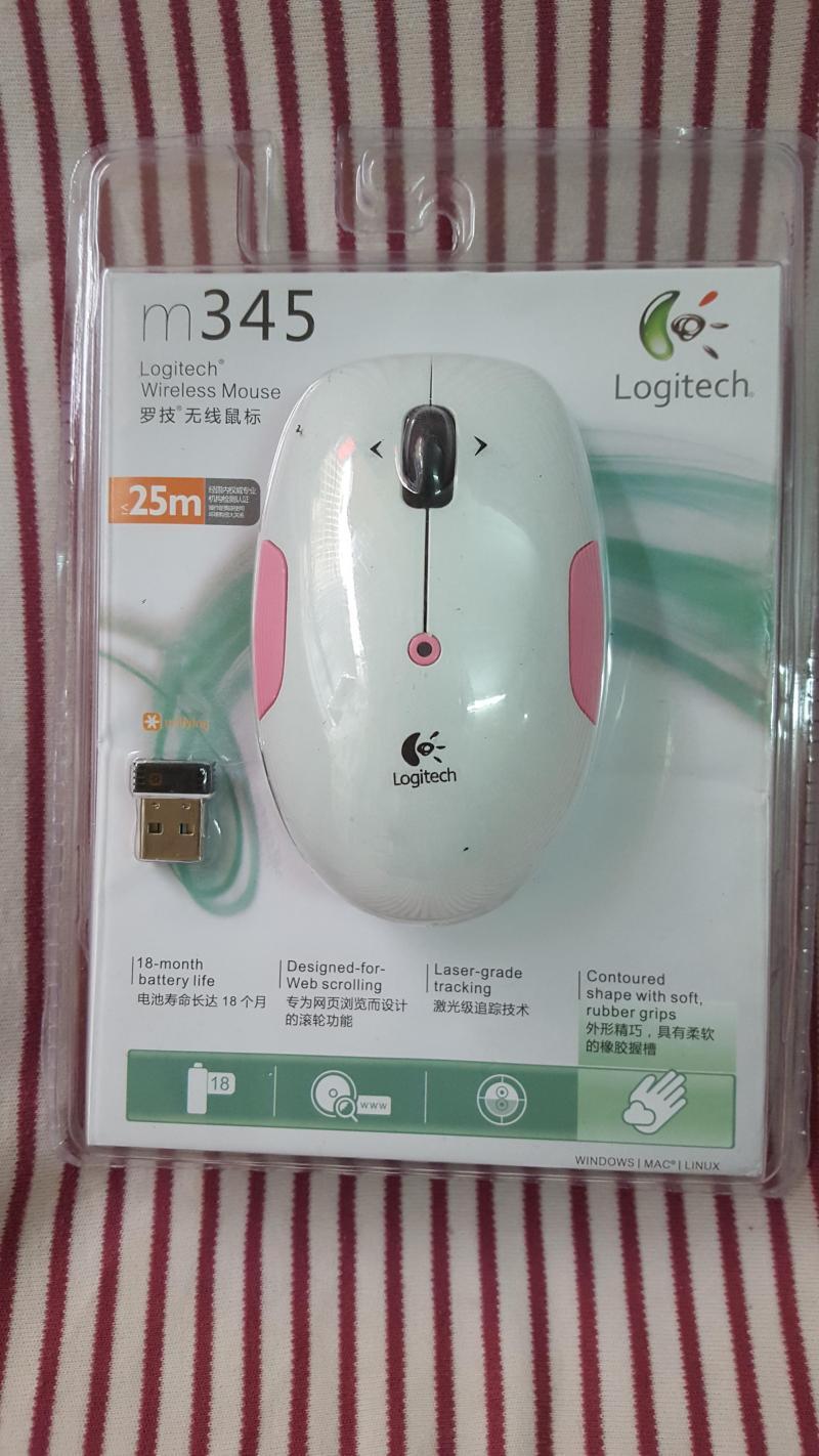 Chuột không dây Logitech M345