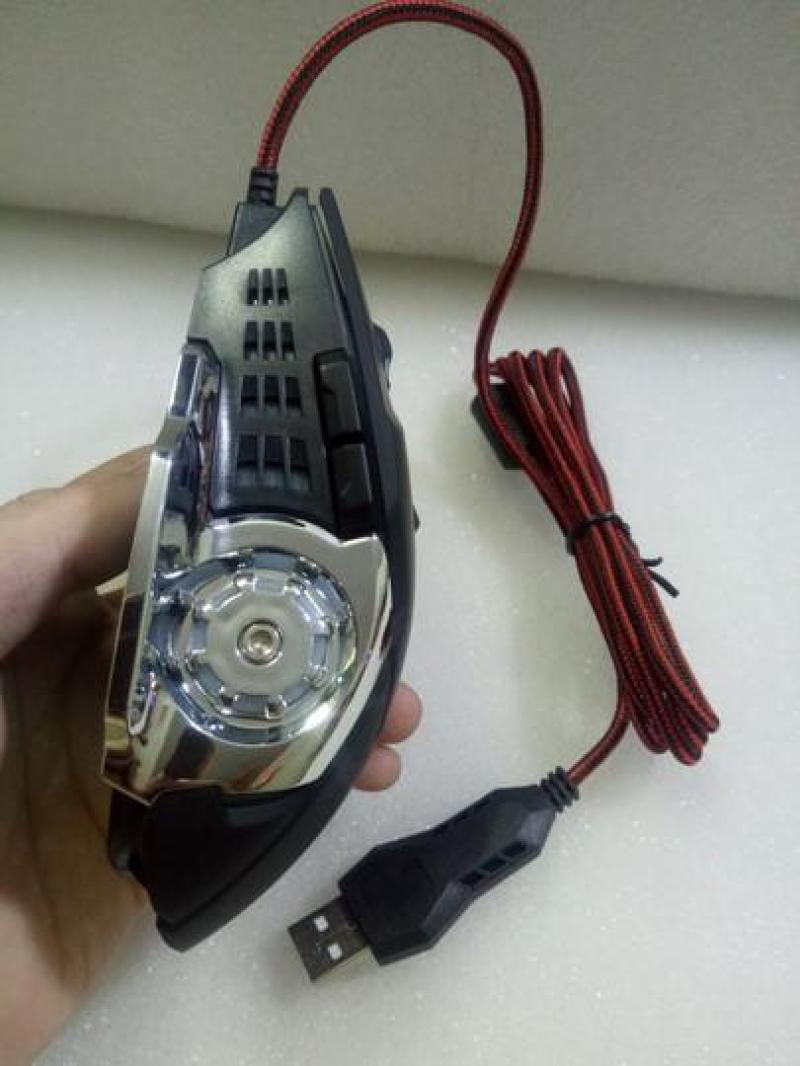 Chuột quang có dây Forev FV-502 đèn led đổi màu