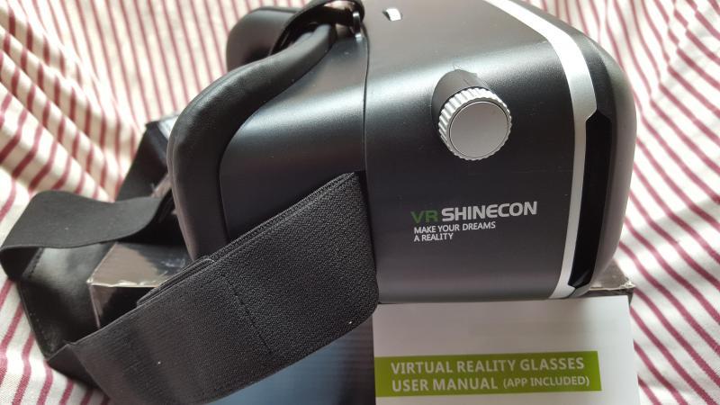 Kính thực tế ảo VR Shinecon (xem phim 3D trên điện thoại)