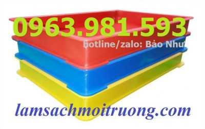 thùng nhựa đặc BL006, sóng nhựa bít BL006