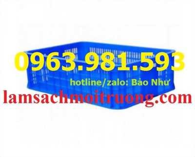 Sọt nhựa rỗng HS009, sóng nhựa hở HS009 giá rẻ tại Hà Nội, sóng nhựa rỗng HS009