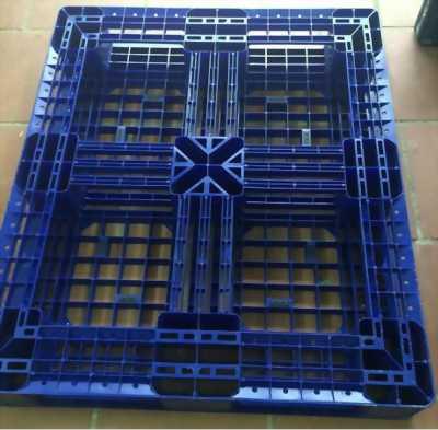 Pallet nhựa mã PL08N MTX Xanh- HDPE