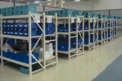 Kệ trung tải mẫu 15 trắng bền chắc cho khu công nghiệp