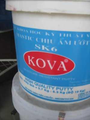 Mastic chống thấm cho sân Tennis Kova SK-6
