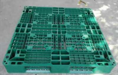 Pallet nhựa giá rẻ 1100x1100x150, 1100x1100x120