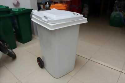 Thùng rác composite 240 lít, thùng rác bệnh viện