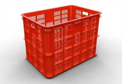 Rổ nhựa đan - Cc rổ nhựa công nghiệp đựng trái cây