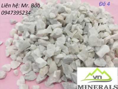 Cung cấp Đá hạt trắng 3-4mm dùng trong sản xuất gạch terrazzo