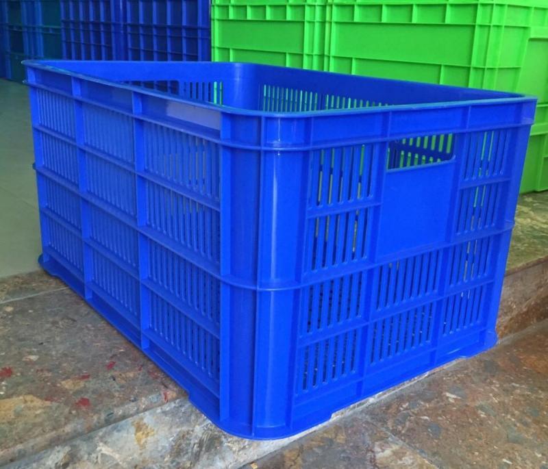Sọt nhựa kéo hàng xí nghiệp,rổ nhựa cao 190