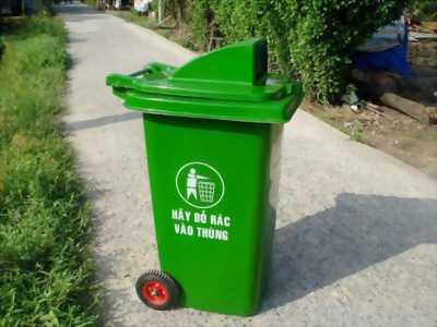 Thùng rác 90l,thùng rác 120lit có bánh xe
