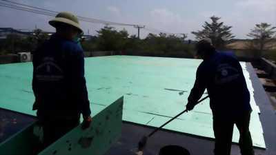 Chống nóng chống thấm sàn bê tông sân thượng