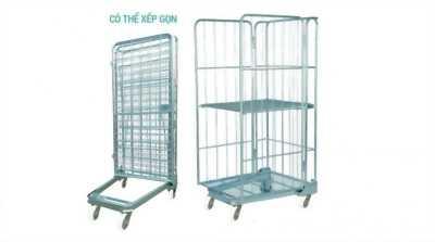 Xe đẩy châm hàng roll cage Happy Move 500kg
