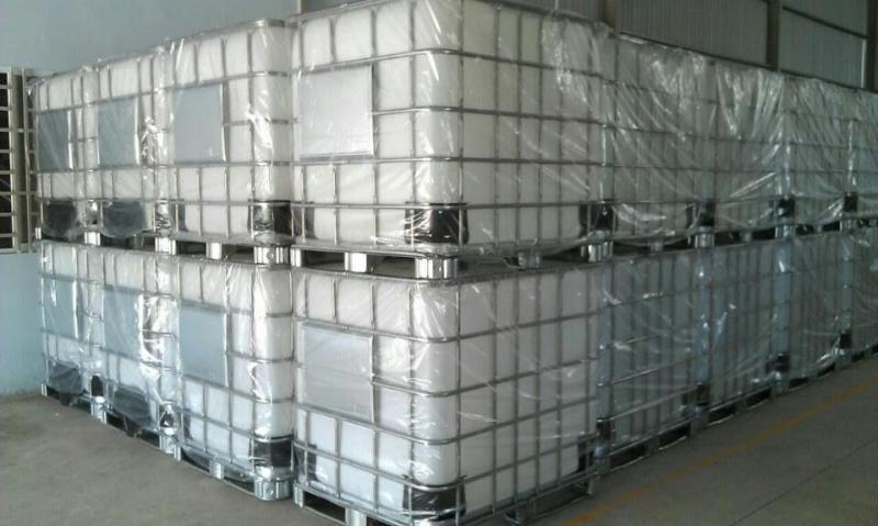 Tank nhựa 1000 lít đựng chất lỏng, bồn nhựa màu trắng