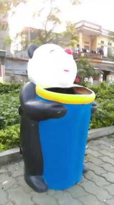 Chuyên sản xuất Thùng rác trường mần non tại hà nội