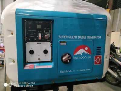 Máy phát điện 8500DET 7kw chạy dầu, siêu chống ồn