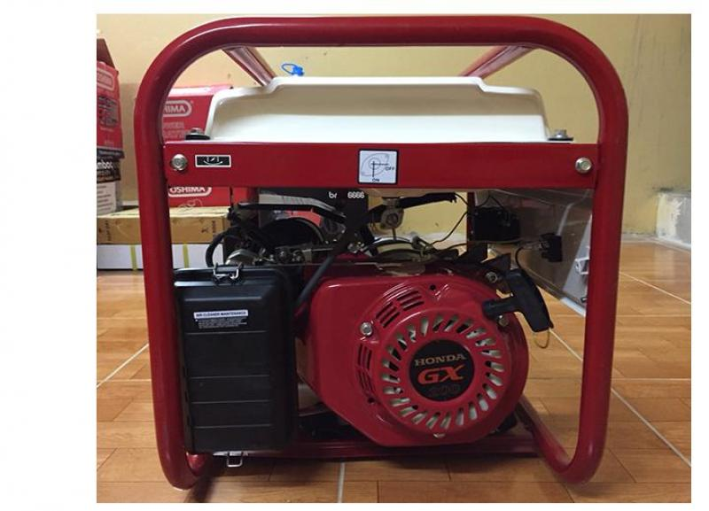 Máy phát điện 3kw chạy xăng , đề nổ và ắc quy