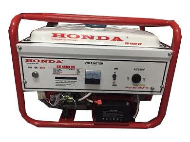Máy phát điện Honda 3,5kw đề nổ và ắc quy, BXT